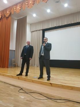 Встреча в СШ №61 г.Минска