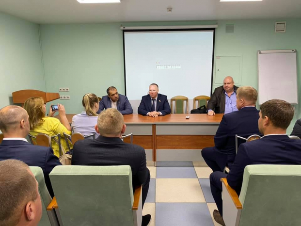 Встреча с активом Витебской областной организации ЛДП
