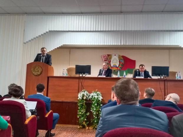Выездное заседание Администрации Первомайского района г.Минска, посвящённое вопросам профилактики правонарушений и преступлений